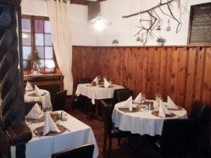 Diner au restaurant de l'ange